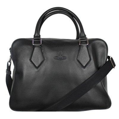 〔英倫空運小舖〕*超值折扣特區 英國代購 65折 英版 Vivienne Westwood 皮革 手提 斜背包 中包