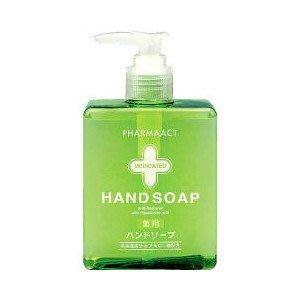 日本品牌【熊野油脂】PharmaACT洗手乳
