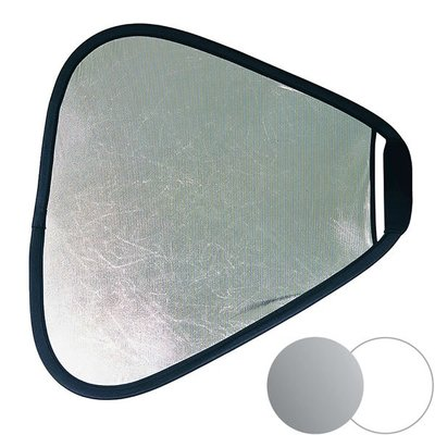 【EC數位】英國 LastoLite LR3631 手持式反光板75cm(銀/白) 柔光幕 柔光板 柔光銀