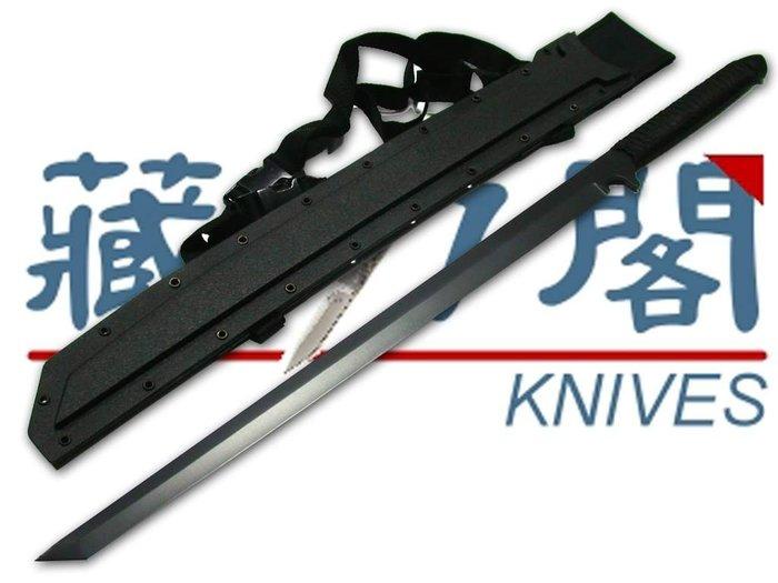 《藏刀閣》精選日本刀-忍者暗殺刀(黑)
