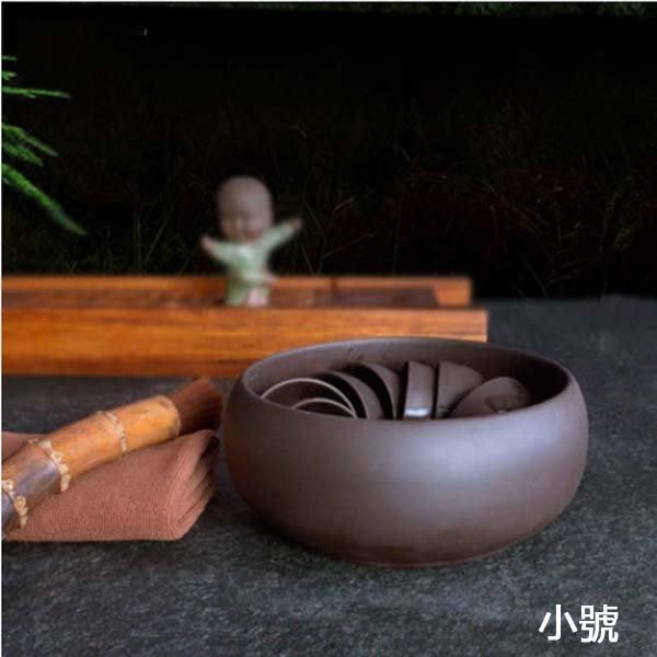 5Cgo【茗道】含稅會員有優惠 43312559448 宜興紫砂茶洗大號杯洗洗茶碗洗茶杯碗功夫茶具配件紫砂茶洗 小号款