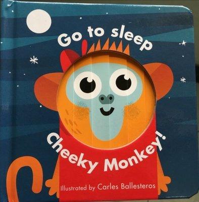 全新現貨 Little Faces: Go to Sleep Cheeky Monkey! 百頁操作書