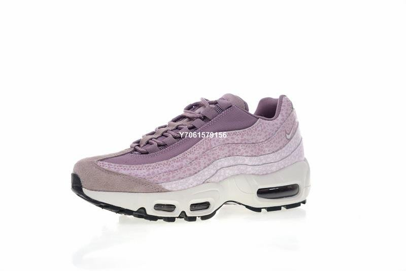 "new arrival f66ab 8155f Nike Air Max 95 PRM Purple Smoke""石頭紋漸變粉紫""氣墊經典"