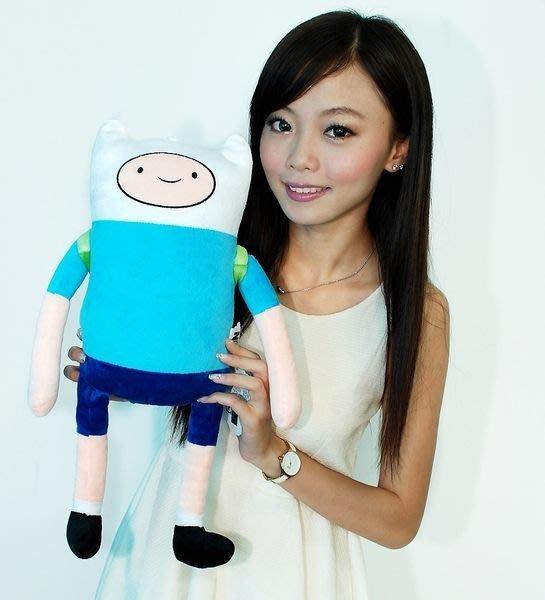 阿寶娃娃~Adventure Time AT 探險活寶~阿寶玩偶 高45cm~阿寶~小朋友最愛
