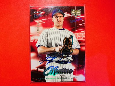 Miguel Montero 2007 Fleer Ultra Autograph 新人簽名卡 RC 限/149