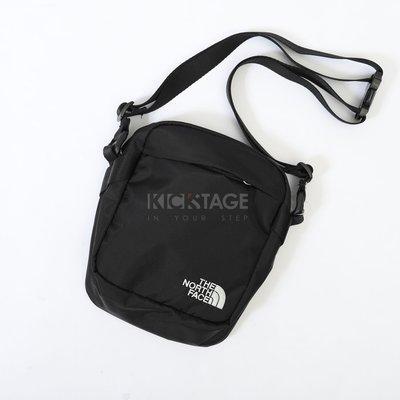 KS▸The North Face SHOULDER BAG 小LOGO 黑色 肩背 多夾層 側背小包【TNF011】