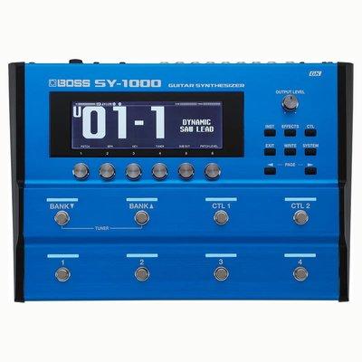【成功樂器 . 音響】ROLAND BOSS SY-1000 吉他合成器 建模處理器