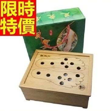 艾草針灸盒 艾灸器具-竹製足灸盒溫足療多功能65j29[獨家進口][米蘭精品]