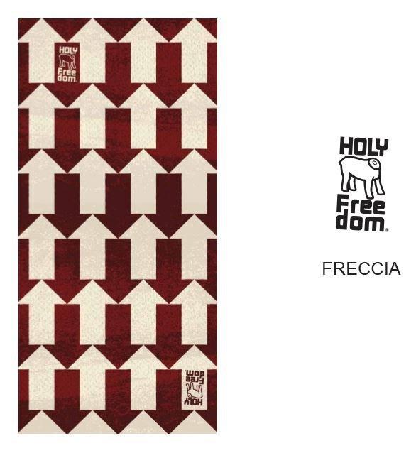 (I LOVE樂多)義大利Holy Freedom魔術頭巾 領巾 面罩 夏季防曬 吸濕排汗 透氣 趣味箭頭圖案 BMW
