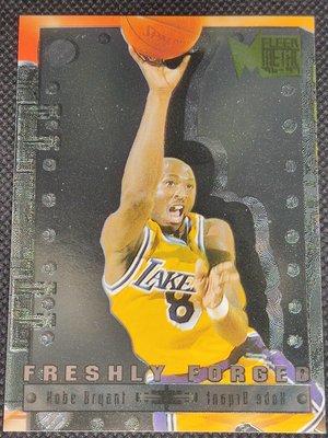 1996 - 97 Fleer Metal Freshly Forged Kobe Bryant #3 Rookie Card Insert