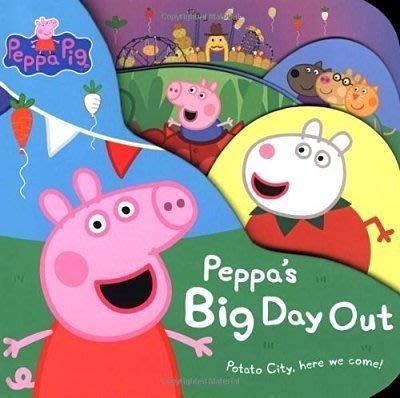 Peppa Pig: Peppa's Big Day Out 大開本硬頁書/有現貨
