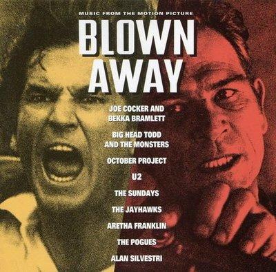《絕版專賣》炸彈追殺令  /  Blown Away 電影原聲帶 Alan Silvestri (歐版.無IFPI)