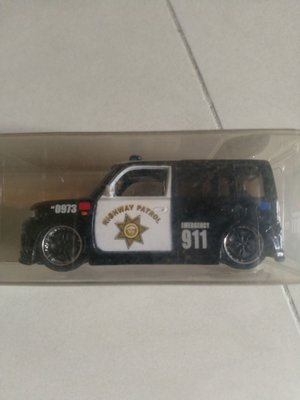 TOYOTA XB BB 1/60 911 POLICE CAR