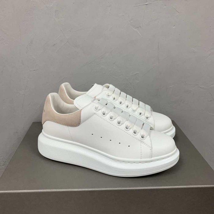 【TONES.】Alexander MCQueen 19ss  厚底鞋 淡粉 限定款 女鞋 麂皮