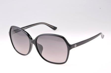 ☆鏡典眼鏡☆公司貨正品 GUCCI 太陽眼鏡~超輕好戴~亞洲版鼻墊加高~636黑