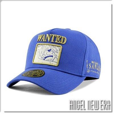 【ANGEL NEW ERA】ONE PIECE 航海王 懸賞單 香吉士 寶藍色 老帽 卡車帽 東映授權 限量帽贈帽撐