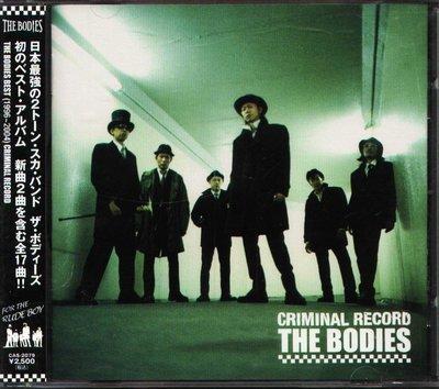 K - THE BODIES - CRIMINAL RECORD - 日版 - NEW