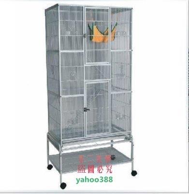 美學144黑色大型鸚鵡籠 群鳥籠 鳥籠大號 繁殖籠3474❖0679