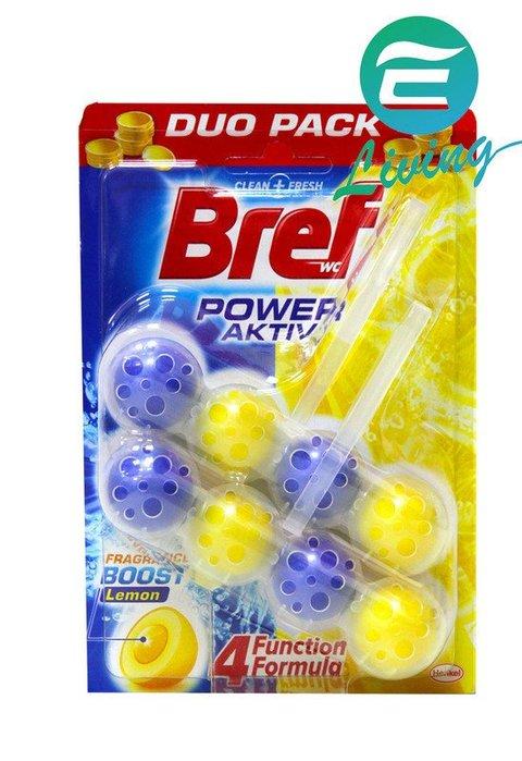 【易油網】德國 Bref 馬桶清潔芳香球 除菌 50g Persil Henkel 二入 檸檬香 #56832