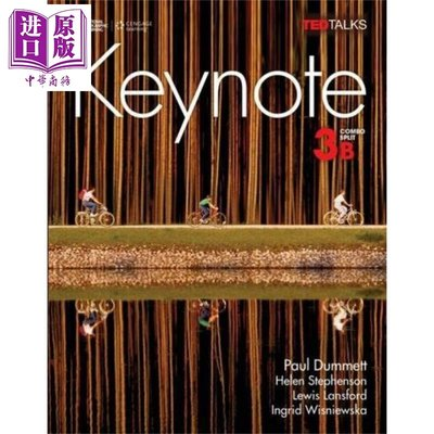 Keynote 3B: Student Book with Workbook 英文原版 Keynote 3B:國家地理英