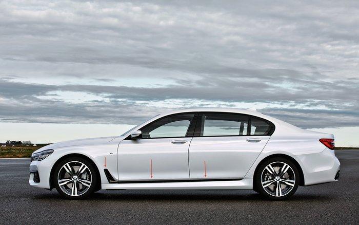 【樂駒】BMW M Sport G11 G12 原廠 改裝 套件 高光澤 黑色 亮黑 車身 側邊 飾板