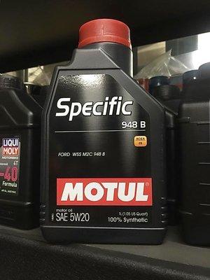 【油品味】魔特 MOTUL Specific 948 B 5W20 C5 全合成機油