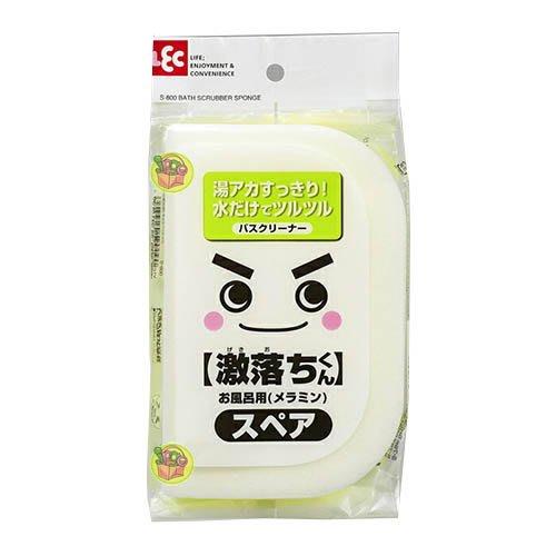 【JPGO】日本進口 LEC 激落君 浴室清潔刷 浴廁清潔海綿 海綿補充包 S-800 #090