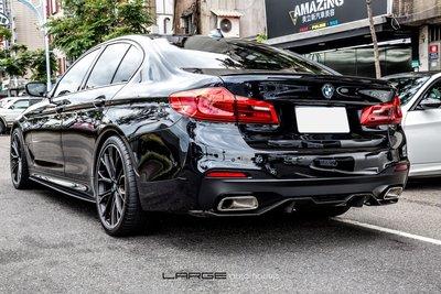 【樂駒】BMW G30 530i M Performance 原廠 改裝 套件 精品 尾段 排氣 系統 方管