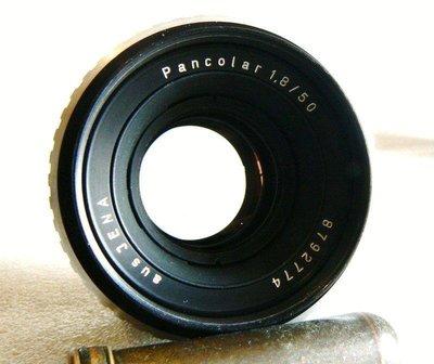 【悠悠山河】近新品 Meyer版--Carl Zeiss Jena Pancolar 50mm F1.8 M42 小微距