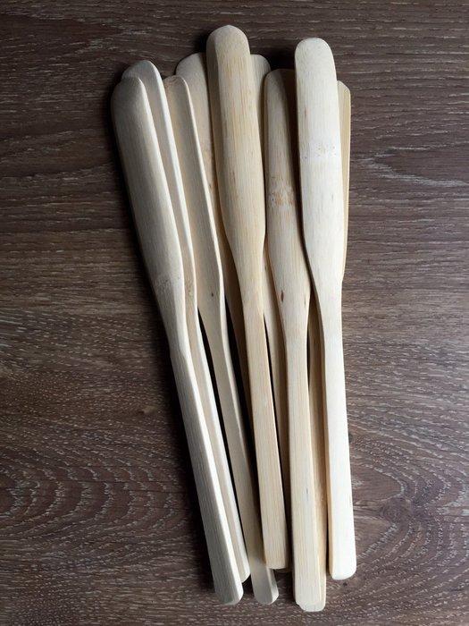 竹藝坊-攪拌棒.咖啡長匙.水餃棒.護髮油挖杓.(可客製雷射雕刻刻字)