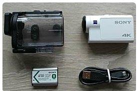 SONY FDR-X3000 4K運動攝影機 二手保固七日