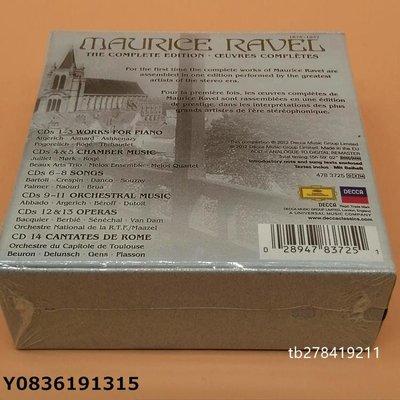 爆款CD.唱片~拉威爾作品全集14CD 作曲家精華 RAVEL The Complete Edition CD