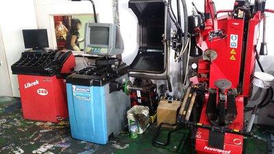 大車拆胎機 卡車平衡機器 百世霸平衡機器 輪胎平衡機器 (全新品當中古賣)