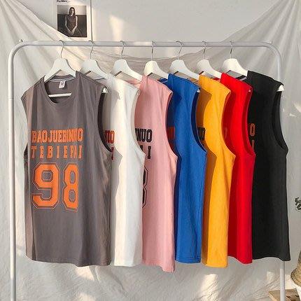 [C.M.平價精品館]M~3XL/帥氣有型舒適純棉無袖T恤/背心
