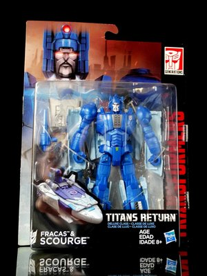2FW : TITANS RETURN DELUXE 瘟疫 FRACAS & SCOURGE 富貴玩具店
