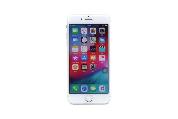 【台中青蘋果】Apple iPhone 7 銀 32G 32GB 二手 4.7吋 蘋果手機 #38964