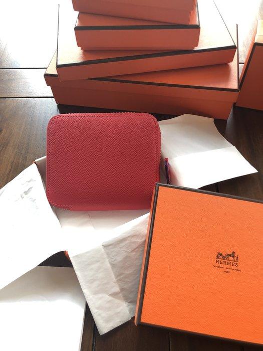 Hermes silk in 短夾 全新品