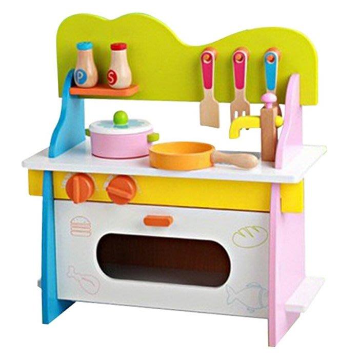CHING-CHING親親-WOOD TOYS木製玩具組-繽紛廚房-B(MSN15027)