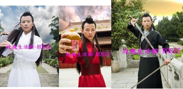 【演出show】~ 一般大俠裝,武俠服,書生服~ COSPLAY紅,白,黑