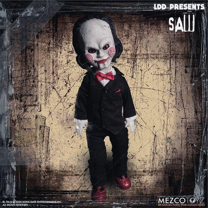 ArtLife @ MEZCO LDD SAW Living Dead Dolls BILLY 活死人 奪魂鋸 比利