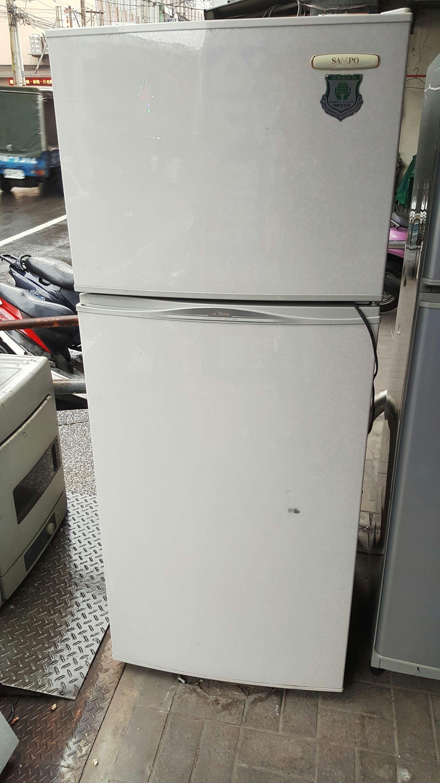 聲寶雙門冰箱上冷凍下冷藏 七成新 4000 含運
