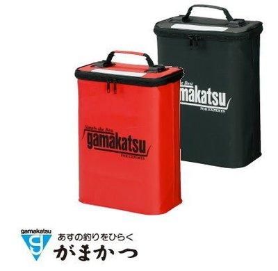 源豐網路釣具 - GAMAKATSU 直立式釘鞋收納袋 GM-1979(紅)