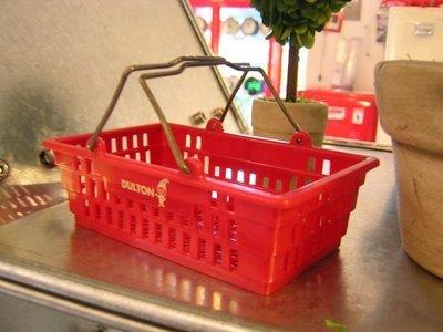 「 帶回」  DULTON 道爾頓 迷你小提籃 手提籃 籃 收納籃 菜籃 迷你 提籃 裝飾小物 辦公桌小物