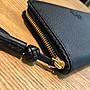 美國正品 TORY BURCH Description taylor zip wallet 女式長款皮夾 編織修邊設計