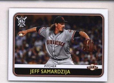 2020 Topps Big League #132 Jeff Samardzija - San Francisco Giants
