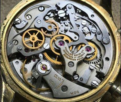 (一代古典銘機!)Breitling 百年靈 Chronomat 808 搭載 Venus 手上鍊 Cal.175 機芯