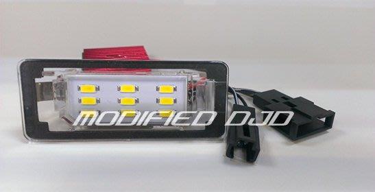 DJD Y0447 PORSCHE-SEAT-SKODA 潤福 LED專用型牌照燈 5800K 品質優良
