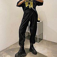 i-Mini 正韓|後腰鬆緊工作口袋束口褲|‧ 韓國連線‧代購‧空運【02175955LA】
