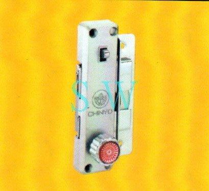 580青葉牌高級鋁門鉤鎖 1200型鋁門鎖(平面無鎖心 鎖心長38mm)拉門鉤 拉門鎖 鉤鎖 紗門鎖 落地門鎖 紗門鉤鎖