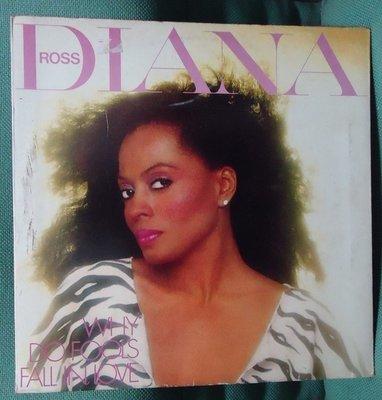 【音樂年華 】黛安娜·羅斯Diana Ross Why do foools fall in love黑膠唱片